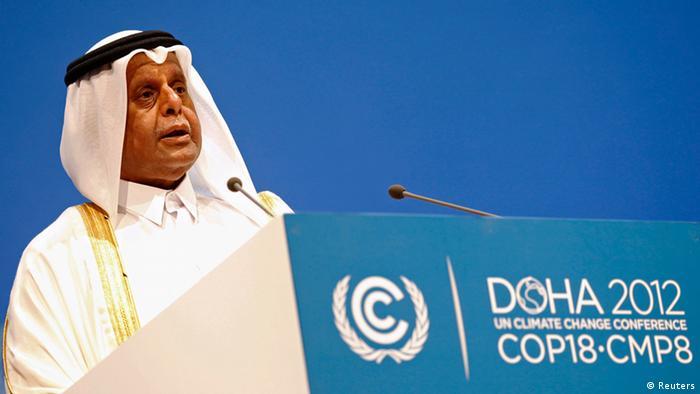 عبدالله بن حمد العطية، رئیس کنفرانس جهانی تغییرات اقلیمی در قطر از کنفرانس امسال به عنوان نقطه عطفی در مذاکرات زیستمحیطی در سطح جهان نام برد