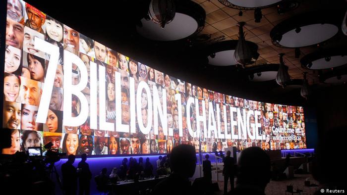کنفرانس بینالمللی تغییرات اقلیمی دوحه به هنگام گشایش