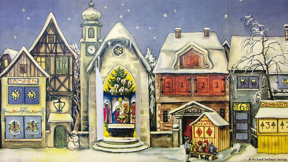 Рождество в германии картинки нарисованные, марта