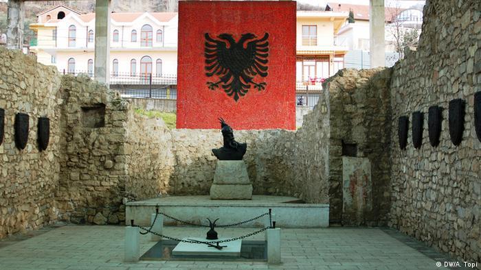 Mausoleum of Albanian national hero Gjergj Kastriot Skenderbeu