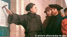 Deutschland Geschichte Reformation Luthers Thesenanschlag Ferdinand Pauwels