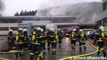 Brand in Behindertenwerkstatt im Schwarzwald