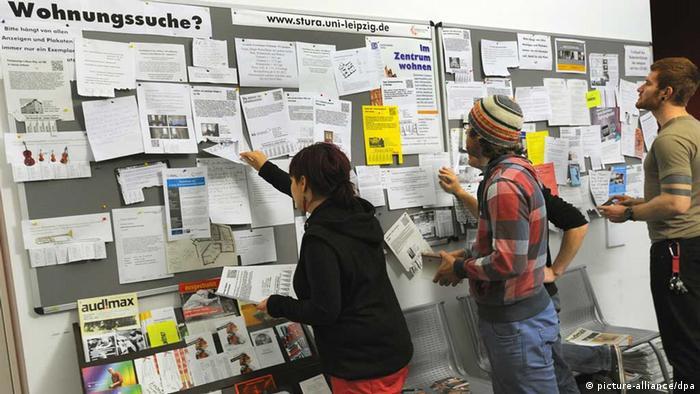 Students in Leipzig Photo: Waltraud Grubitzsch/dpa