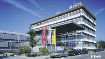 Duden wird 125 Jahre Verlagsgebäude in Mannheim