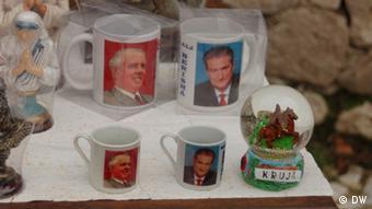 Albanian mugs.
