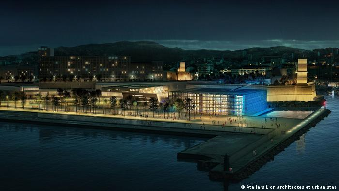 An artist's impression of Euromediterranee, the largest urban renewal project in Europe