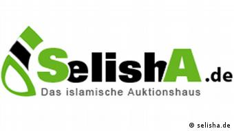 Logo des islamischen Aktionshauses SelishA Datum: 27.11.2012 Link: http://selisha.de/Hijab-Cap-fr-Mdchen-rosa,name,27146,auction_id,auction_details