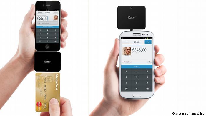 Smartphone Kartenleser - iZettle
