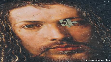 Rompecabezas con el retrato de Durero.