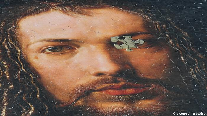 Puzzlebild Selbstporträt Dürrer