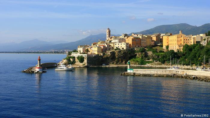 Korsika Bastia Hafen Frankreich Mittelmeer