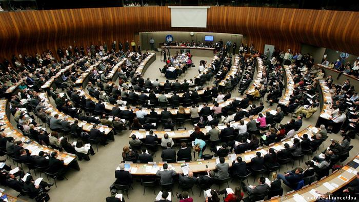 General view of the 62nd Commission on Human Rights, during the last session of the Commission on Human Rights (Photo: EPA/SALVATORE DI NOLFI)