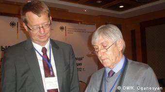 Буркхард Тайхгребер (ліворуч)