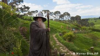 The Hobbit film still of Gandalf (Ian McKellen) (Warner Bros./AP)