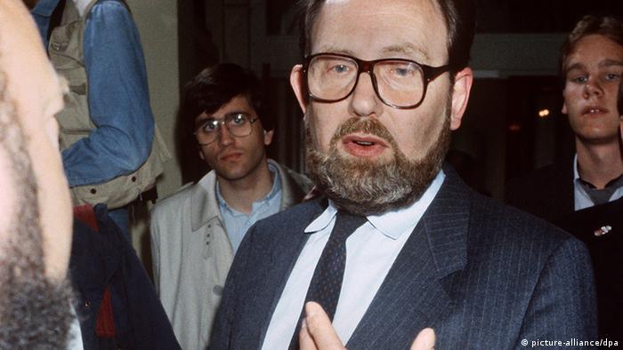 Heidemann in 1985 Photo: picture-alliance/dpa