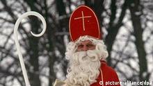 . Der Legenden aus dem 4. und 6. Jahrhundert nach soll der heilige Nikolaus ein mildtätiger Bischof gewesen sein. dpa/lby (zu dpa-Stichwort: St. Nikolaus vom 03.12.2006) Foto: Gerhard Schnatmeyer dpa +++(c) dpa - Bildfunk+++