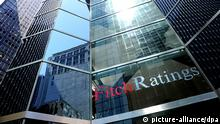 USA Wirtschaft Ratingagentur Fitch Ratings in New York Gebäude