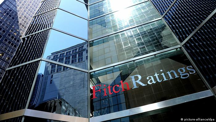USA Wirtschaft Ratingagentur Fitch Ratings in New York Gebäude (picture-alliance/dpa)