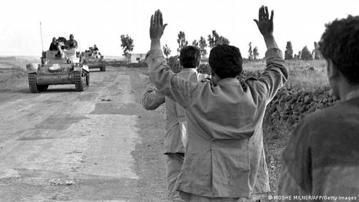 Golanhöhen Sechs Tage Krieg 1967 (MOSHE MILNER/AFP/Getty Images)