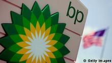 FORT LAUDERDALE - AUGUST 07: A BP sign is seen outside the gas station August 7, 2006 in Fort Lauderdale, Florida. The company was trying to shut down the Prudhoe Bay oil field in northern Alaska after finding severe corrosion in a pipeline. Oil prices rose by $2 a barrel over news. (Photo by Joe Raedle/Getty Images)