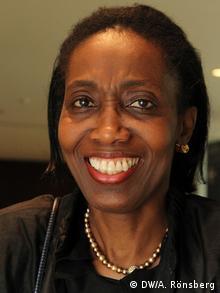 Dessima Williams, Botschafterin Grenadas bei den Vereinten Nationen (Copyright: DW/A. Rönsberg)