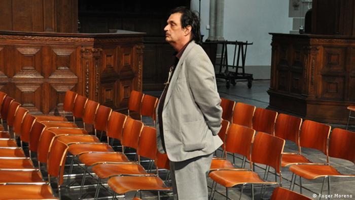 Komponist Roger Moreno, Sinti-Roma-Orchester; Copyright: Roger Moreno***via Aygül Cizmecioglu