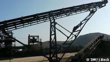 La mine de charbon de Moatize, au Mozambique