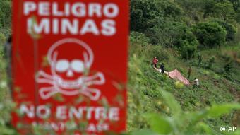 Warnung vor Minen / Nicaragua