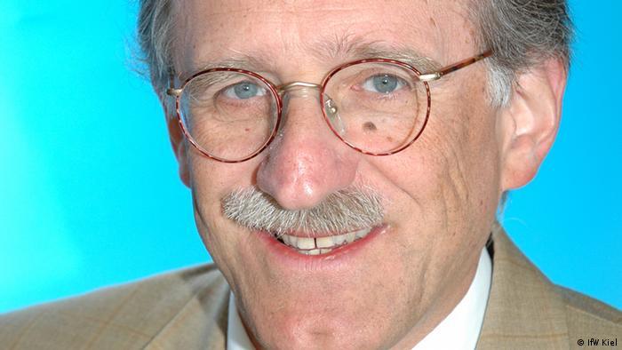 El Prof. Dr. Federico Foders, experto en Política Económica y Desarrollo del Instituto para la Economía Mundial, de Kiel.