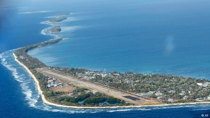 Tuvalu Funafuti Insel Meer (AP)
