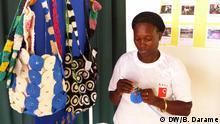 Guinea-Bissau Ausstellung Müll als Kunst