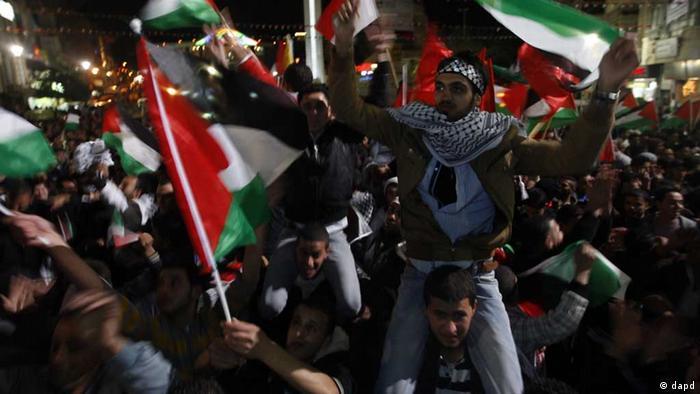 Palästinenser / UN/ Beobachterstatus / Palästina