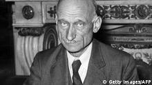 Frankreich Geschichte Außenminister Robert Schuman in Paris Schuman-Plan