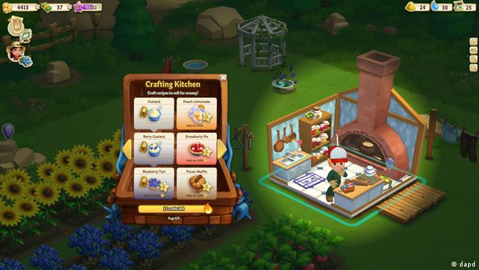 This undated image provided by Zynga shows a screenshot of Farmville 2, announced on Wednesday, Sept. 5, 2012. Not Long ago, online games company Zynga looked on pace to unseat much bigger, well-established rivals as it rode the popularity of FarmVille, (Photo:Zynga/AP/dapd)