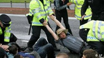 Demonstration in Gleneagles