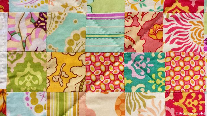 Handmade Patchwork Quilt © grandaded