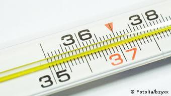 Ein Fieberthermometer (Foto: dpa)
