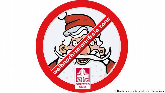 Logo der Aktion Weihnachtsmannfreien Zone