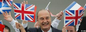 Jacques Chirac in Gleneagles