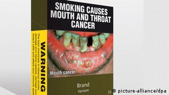 epa03010219 A handout image released by the Australian Government Department for Health and Ageing on 17 September 2011 shows proposed health warnings for tobacco products on cigarette and other tobacco packaging. Cigarettes packs will come in plain green packets from December 2012 under anti-smoking legislation that took effect on 21 November 2011 in Australia. Brand imagery will be banished under a world-first initiative that removes the last public display of advertising for cigarettes. Branding will be in small writing underneath large and stark warnings of the damaging effects of smoking. Smoking, which is said to kill 15,000 Australians a year, has been under attack in Australia for almost 100 years. EPA/DEPARTMENT OF HEALTH AND AGEING AUSTRALIA AND NEW ZEALAND OUT HANDOUT EDITORIAL USE ONLY  ধূমপায়ীদের ভয় দেখানোর বৃথা চেষ্টা করে লাভ নেই!