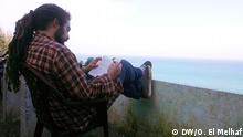 Thema: Kaffee El Haffa, Mythos in Tangier. Nassim Chawki, fransösich Tourist liest ein Buch im Cafe El Haffa Kopierechte: Ouidade El Melhaf, DW arabisch, Korrespondentin in Marokko. Aufnahmedatum: 25.11.2012 Tangier, Marokko Schlagwörter: Marokko, Tangier, El HaffaKafe, Tourismus, Mythos. Zulieferer: Moncef Slimi