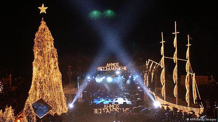 Weihnachten In Griechenland Bilder.Trübe Weihnachten In Griechenland Europa Dw 24 12 2012