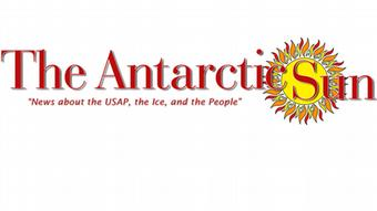 The Antarctic Sun (Logo) - News about the USAP, the Ice, and the People