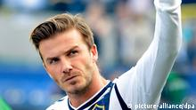 Fußball Championship David Beckham