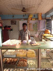 Indien Süßigkeiten Süßspeisen