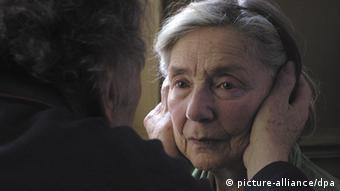 """En la foto, los protagonistas de """"Amor"""", del director austríaco Michael Haneke."""