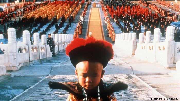 Film still from The Last Emperor.