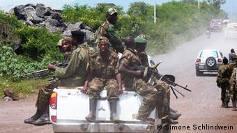 Ostkongo Goma Rebellen verlassen Goma