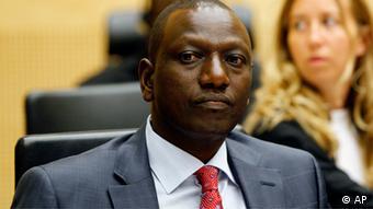 William Ruto, vice-presidente do Quénia, diz que é necessário provar ao mundo que é possível fazer negócios em África