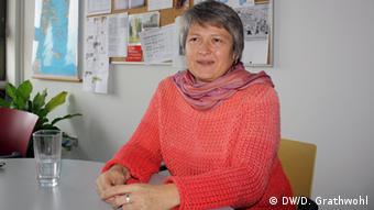 Ulrike Drißner, Goethe-Institut Athen Foto: Daphne Grathwohl